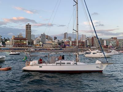 Accommodation in Sailboat 40 feet - Comércio