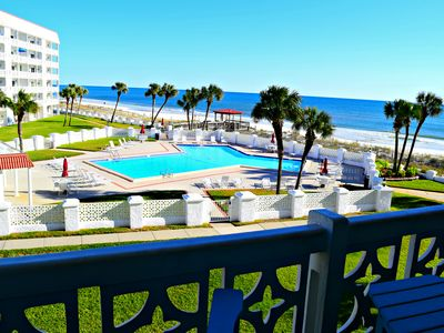 Photo for Gorgeous Views!! Private Balcony to watch the dolphins!!!