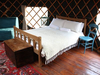 Photo for Willow Yurt - One Bedroom Camping, Sleeps 5