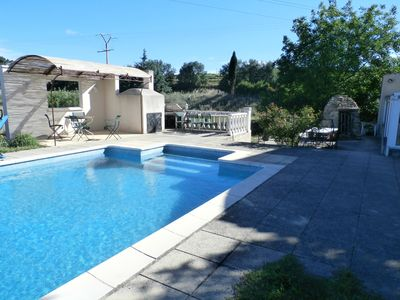 Photo for Provencal farmhouse in Provence 30 minutes from Aix en Provence