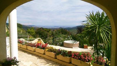 Photo for Villa private domain between Cannes and St Raphael bay views and Lérins islands