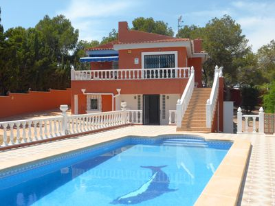 Photo for Superb 4 bedroom 3 bathroom detached villa with private swimming pool