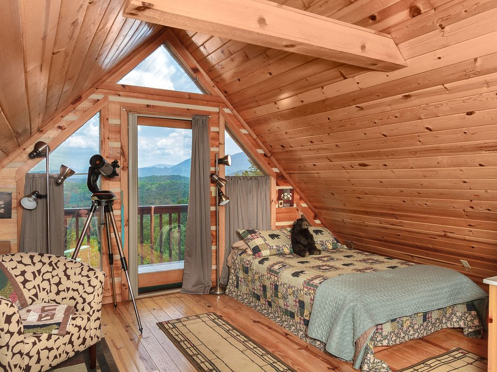 a romantic secluded cabin with mountain views tub u0026 wood