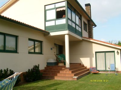 Photo for Great detached villa next to La Coruña and 800 m. from the beach Sta. Cristina