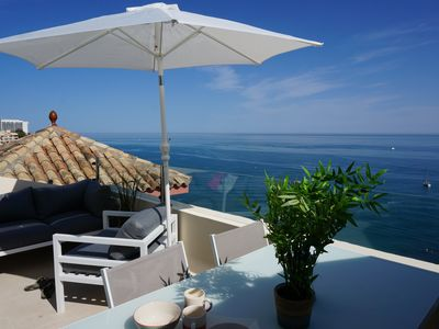 """Photo for Penthouse w/""""private"""" beach and SPA"""