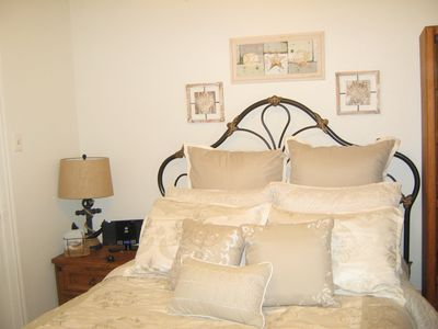 Photo for Cozy renovated Condo across Babe's beach and 61st St Fishing pier in Galveston.