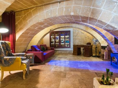 Photo for Valletta Heart apartment in Malta with WiFi & integrated air conditioning.