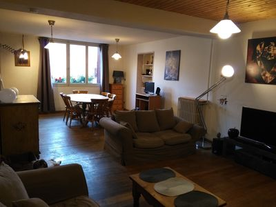 Photo for Cozy apartment, heart of town and close to the slopes