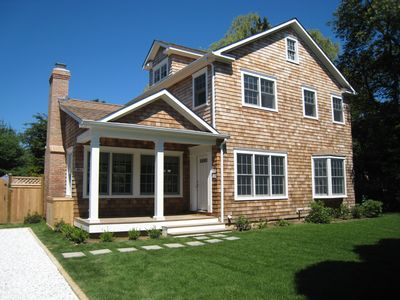 Spacious, light-filled five bedroom, four 1/2 bath within a walk to everything.