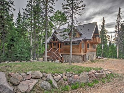 Photo for Luxury Brian Head Mtn. Cabin w/Game Room & Deck!