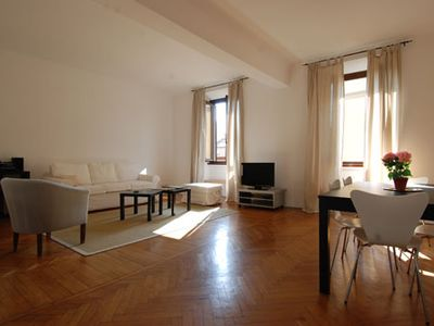 Photo for Spacious 1bdr w/balcony in the heart of Milan
