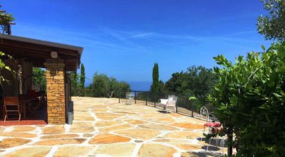 Photo for CASELLABATE- VILLA JOLE 1 - Pure relaxation surrounded by olive trees