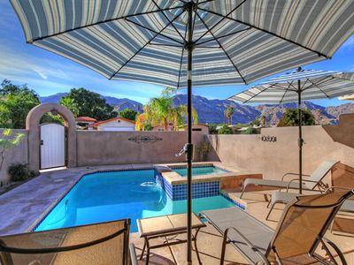 Photo for 3 bedroom 2 bath home with pool and spa close to hiking at La Quinta Cove