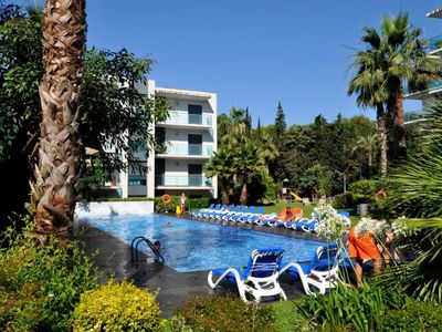 Photo for Apartment Mariposa Ático, air conditioning, wifi, parking, Swimming pool, relax area