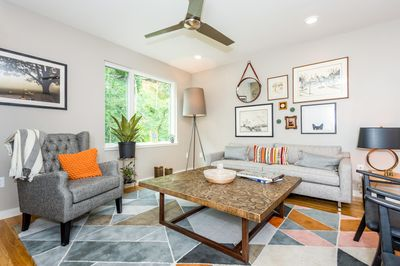 Living Area - Welcome to trendy South Slope! This high-end townhouse is professionally managed by TurnKey Vacation Rentals.