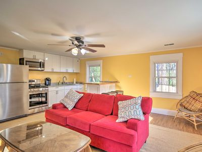 Photo for NEW! Riverfront West Columbia Apartment w/Fire Pit