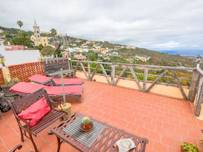 Photo for Beautiful apartment with amazing views. Open terrace and bbq. Wifi available. Small pets allowed.