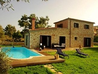 Photo for Villas with Private Pool and Sea Views on Scorpios (Onassis) Island