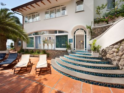 Photo for Villa Infinity over the sea, Massa Lubrense, Sorrento Coast