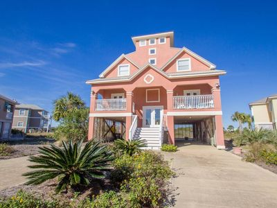 Photo for Pools, tennis, 7 porches w/ views! 3 min to beach! SIX Bedrooms!