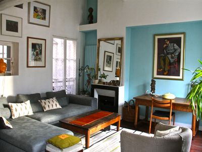Space, light, calm, character ... in the heart of Paris