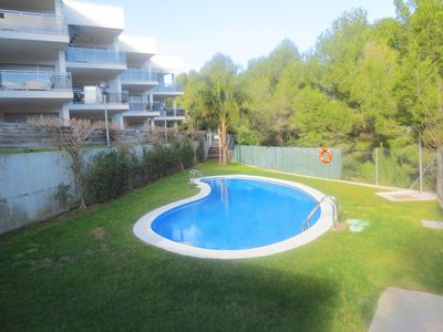 Photo for Apartment With Communal Swimming Pool Residencial Pinar De La Cala