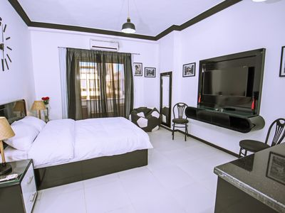 Photo for Pool View Studio with Balcony on Sheraton Road Very Close to The New Marina