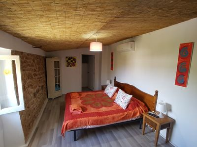 "Photo for Double room ""no. 107"" on Finca, AC, breakfast possible, near Es Trenc, animals"