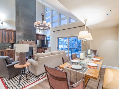 Photo for Sleek Design & Modern Decor Commingle at this Stylish Condo with Ski In Ski Out Access