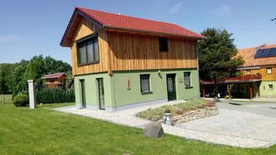 Photo for Holiday house, Wilthen bei Bautzen, peace, relaxation, forest edge location, play house for children