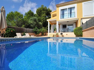 Photo for Calendar 2021 Opened- ES PAS - Beatiful Villa in Cala Pi with sea views.. EXCLUSIVE IN VILLAONLINE  - Free Wifi