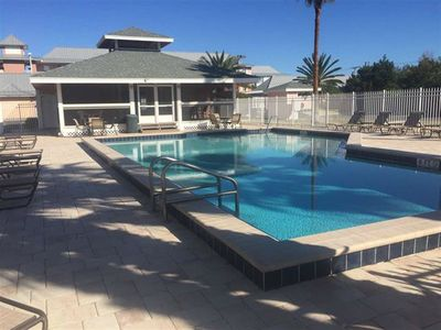 Private Pool just steps away from condo!