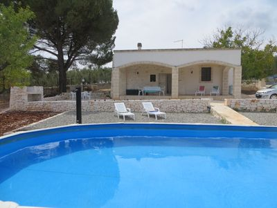 Photo for Characterful and comfortable stone trullo in the countryside of Ostuni