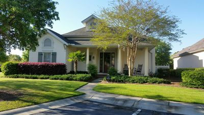 Photo for Comfortable 2 Bedroom golf villa in Hampton Hall