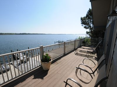 Photo for Superb Direct Waterfront on St. Martin River in Ocean Pines With 2 Dock Slips