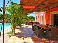 Great villa and good pool for kids. Car required