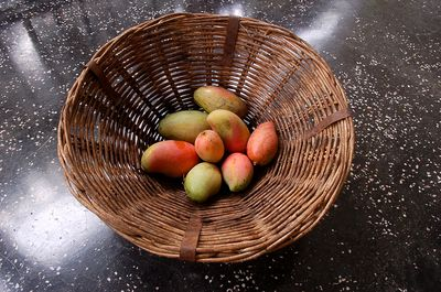 Mangoes from the garden.