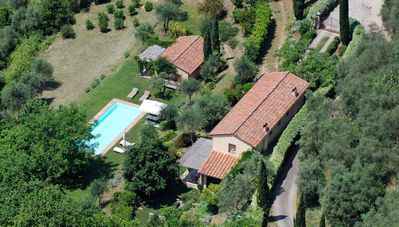 Photo for renovated, lone standing Villa, 180 m²(1950 ft²) pool, sea view, eco friendly