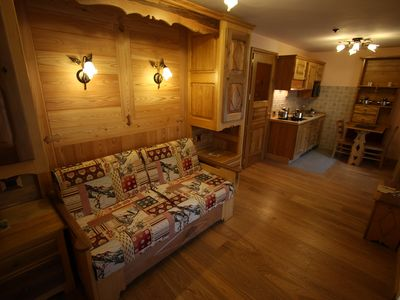 Photo for Chalet Villa Giuditta Romantic Studio Suite Rododendro Monterosa Resort