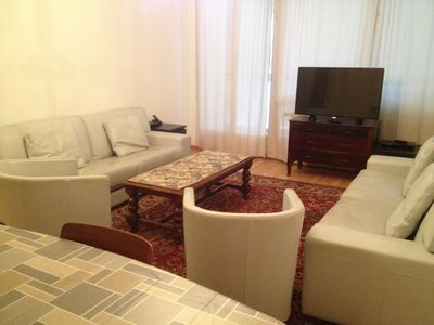 Photo for Renovated and fully equipped apartment, city center, 4 people maximum