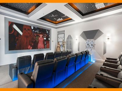 Photo for Reunion Resort 2000 - villa with pool, game room & home theater near Disney