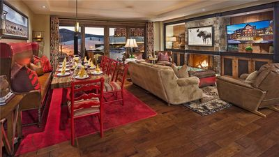 One Steamboat Place: Guadalupe Mountain #613 - 4BR Ski in/Ski out
