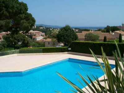 Photo for Nice 2 rooms in a residence with swimming pool