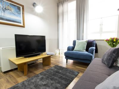Photo for Ideal Temple Bar Quiet 2 BR sleeps up to 6