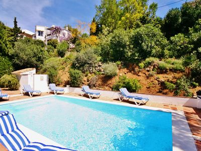 Photo for Hillside Villa With Secluded Terraces. Private Pool. Jacuzzi. Wifi. Table Tennis