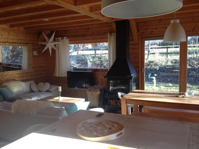 Photo for WOODEN CHALET VERY BRIGHT, AND A NEW COMFORT