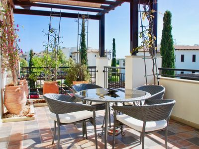 Photo for Beautifully furnished 1 bedroom apartment in the heart of Aphrodite Hills Resort