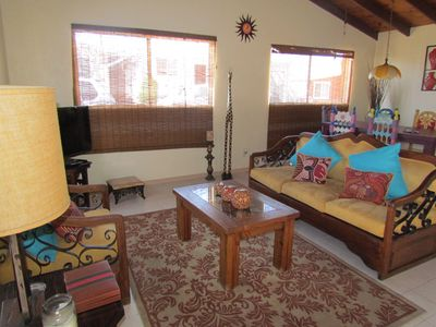 Photo for Great LOCATION Downtown Rosarito, 1mile from BIKE ROAD START& Papas, WI-FI FREE,
