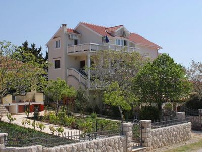 Photo for One bedroom apartment with balcony and sea view Vrsi - Mulo (Zadar)
