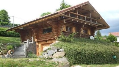 Photo for Chalet Rondins La Bresse quiet panoramic view 10 min from the slopes 2-8 pers